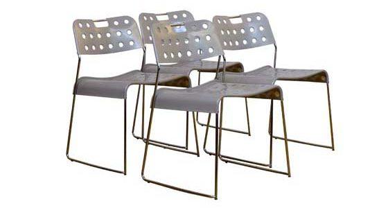 """""""Omstak"""" Rodney Kinsman seat  Bieffeplast '70"""