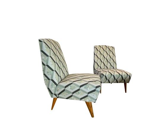 Armchairs Designersguild fabric