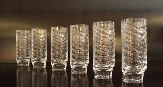 Arnolfo di Cambio glass designed by Fabio Frontini in 1970