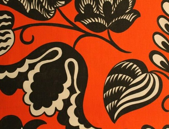 Designer's Guild flower wallpaper