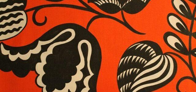 Designer's Guild flower wallpaper