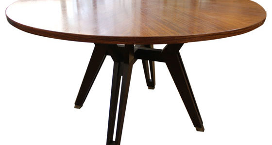 Ico Parisi rosewood dining table produced by MIM in 1960