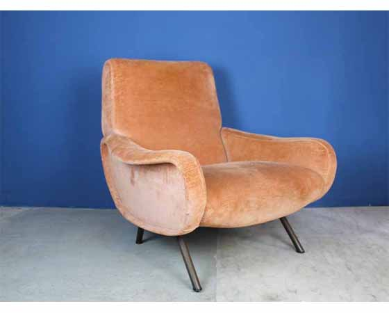 "Lounge chair ""Lady"" by Zanuso for Arflex Italy 1951"