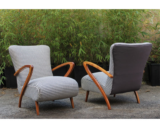Pair_of_Paolo_Buffa_armchairs_reupholstered_DesignersGuild_fabric