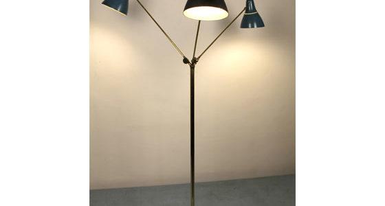 Stilnovo three lights floor lamp